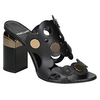 Pierre Hardy high heel sandals in black Calf leather