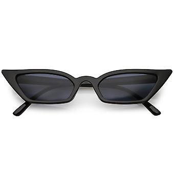 Kobiet cienkie kota Extreme oko okulary prostokąt obiektywu 47mm