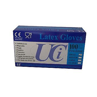 Unisex Erwachsene Handschuhe Latex Prüfung Pack 100