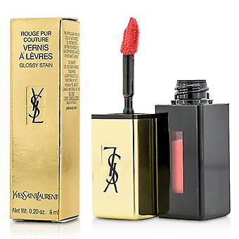 Yves Saint Laurent Rouge Pur Couture Vernis a Levres Glossy Stain - # 42 Tangerine Boho - 6ml/0.2oz