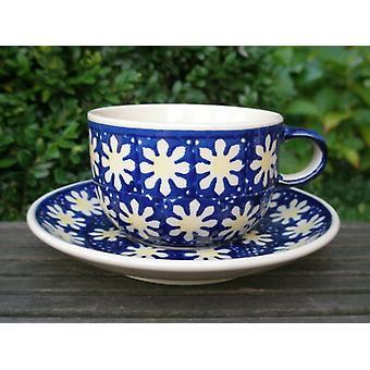 Beker met schotel - keramische serviesgoed - traditionele 65 - thee & koffie - BSN 62396
