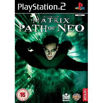 Matrix Path of Neo (PS2) - Ny fabrik forseglet