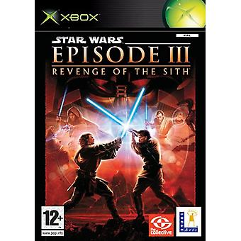 Star Wars Episod III Revenge of the Sith (Xbox)-ny