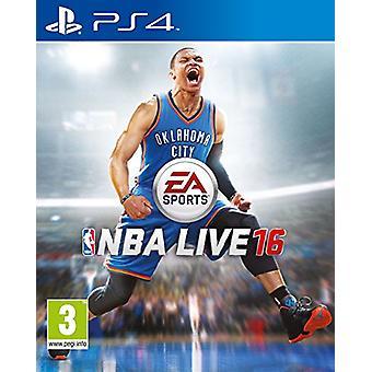 NBA Live 16 (PlayStation 4)-nieuw
