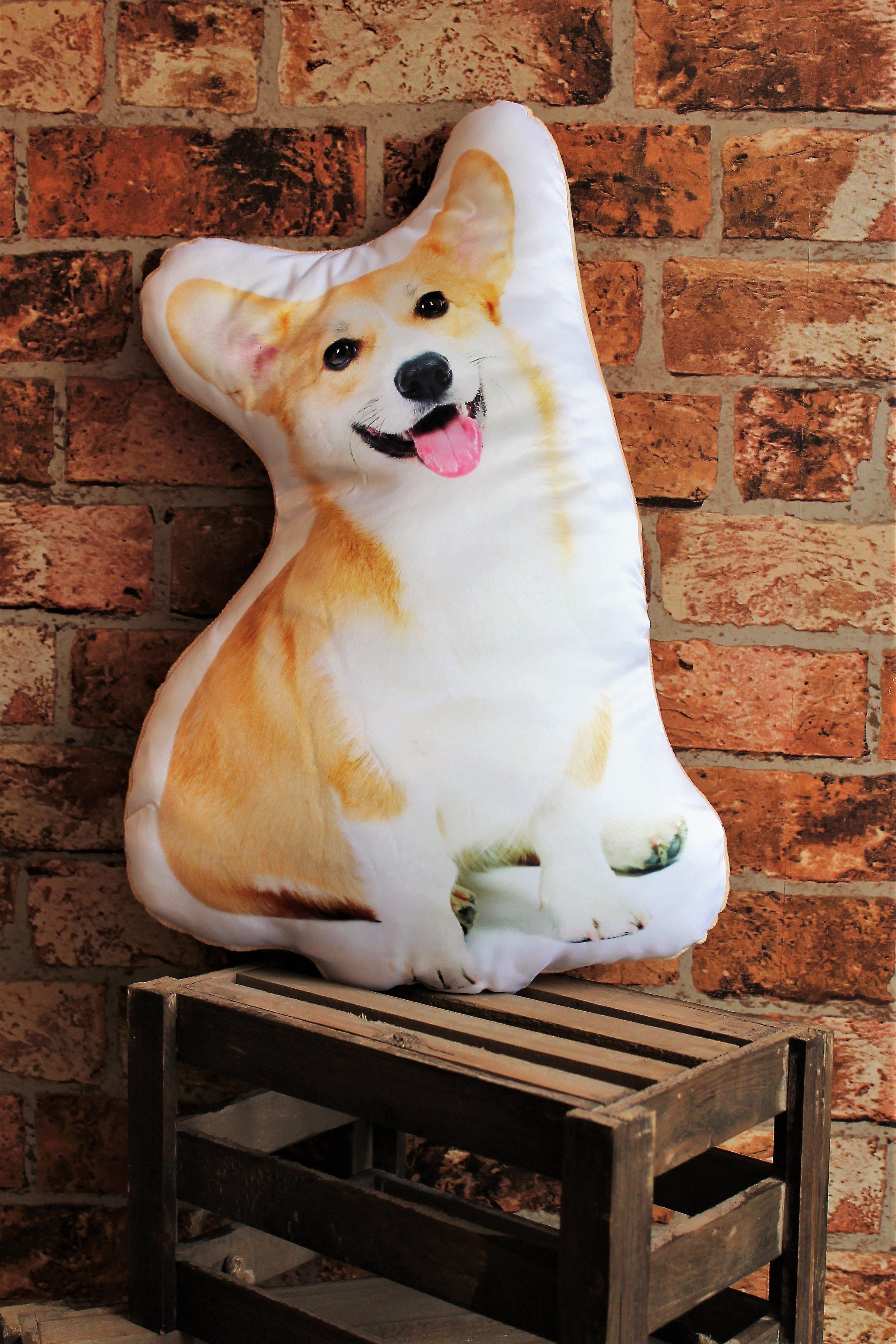 Adorable corgi shaped cushion