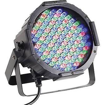 Renkforce DL-LED107S LED PAR vaihe spotlight ei. LED: 108 x musta