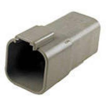 TE Connectivity DT04-6P-C015 Bullet connector Plug, straight Series (connectors): DT Total number of pins: 6 1 pc(s)