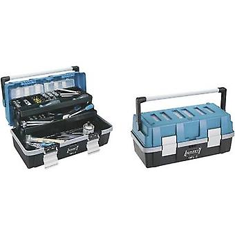 Hazet 190L-2 Caja de herramientas (vacío) Plástico Negro, Azul, Plata