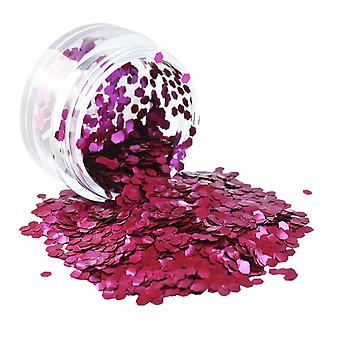 PaintGlow Biodegradable Cosmetic Glitter Berry Crush