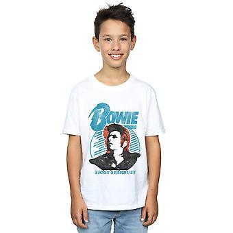 David Bowie pojkar Ziggy Stardust Orange T-Shirt