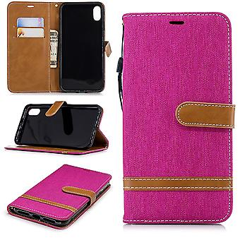 Apple iPhone case cover cell phone case protective bag XS Max card cover case pink