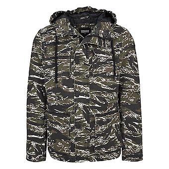 Куртка мужская городских классики Тигр камуфляж хлопок