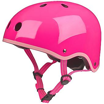 Micro Scooters Glossy Neon Pink Helmet