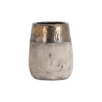 Hill Interiors Metallic Dipped Large Vase