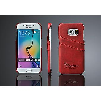 Wallet Case/Shell Samsung Galaxy S6 Edge 2pcs card holder