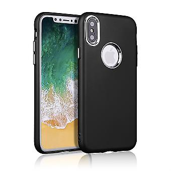 Black Case with Silver Details - iPhone XS