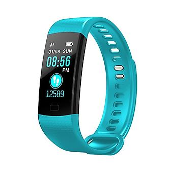 Y5 multifunctional activity bracelet with color screen-blue