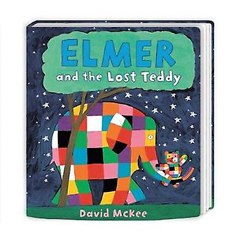 Elmer and the Lost Teddy - Board Book by David McKee - 9781783445837 B