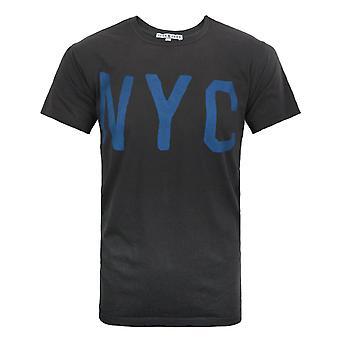 Junk Food NYC Men's T-Shirt Charcoal