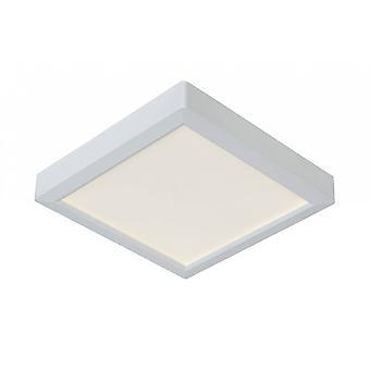 Lucide Tendo-LED Modern Square Aluminium weiß bündig Deckenleuchte