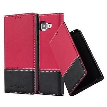 Cadorabo sag for Galaxy A5 2016 sag dækning - telefon sag med magnetisk lås, stå funktion og kort rum - Case Cover Beskyttende sag Sag Sag Book Folding Style