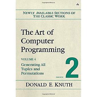 El arte de la programación, volumen 4, fascículo 2 - generando todos los Tuples y permutaciones