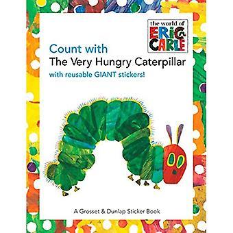 Conteggio con il bruco molto affamato (Sticker Book)