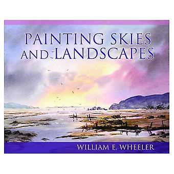 Malerei-Himmel und Landschaften