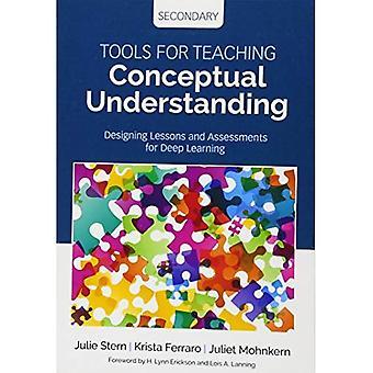 Werkzeuge für den Unterricht konzeptionellen Verständnis, Sekundär: Gestaltung von Unterricht und Assessments für Deep Learning