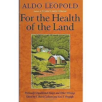 Per la salute della terra: inediti saggi ed altre scritture