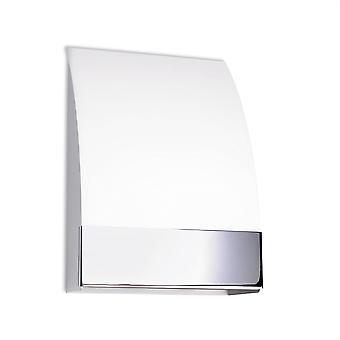 Niza vägg ljus Satin Nickel / glas - lysdioder-C4 506-CR