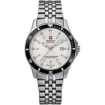 Swiss Military Hanowa 06-7161.2.04.001.07-wristwatch, stainless steel, color: Silver
