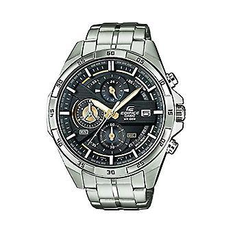 CASIO klocka chronograph quartz klocka med rostfritt stål band EFR-556D-1AVUEF