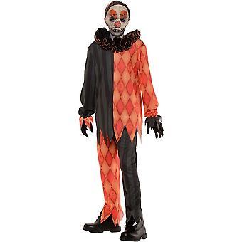 Creepy Clown Child Costume