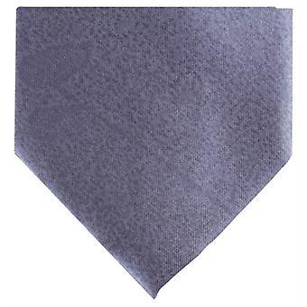 Knightsbridge Neckwear Regular Polyester Tie - Dark Silver