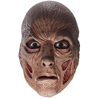 Freddy Kreuger 3/4 Mask For Adults