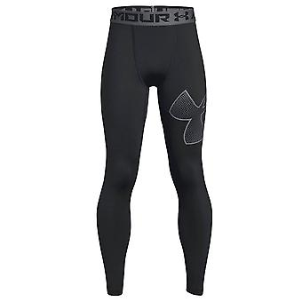 Sous Armour Armour Heatgear Logo enfants montés Baselayer Legging noir