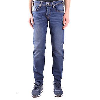 Brian Dales Ezbc126010 Men's Blue Cotton Jeans