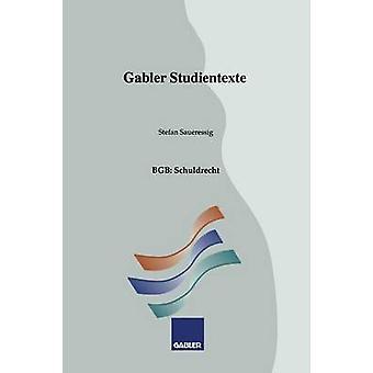 BGB Schuldrecht door Saueressig & Stefan