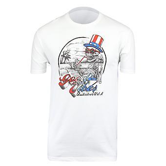 Quiksilver Mens Cheers T-Shirt - White