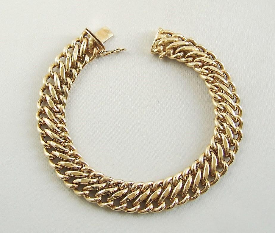 Vintage 14 k gold bracelet