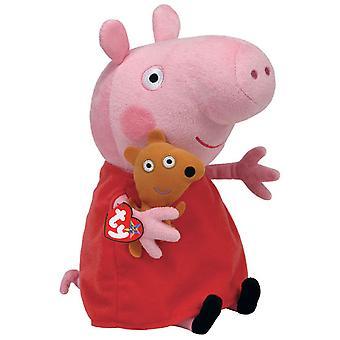 """Peppa Pig TY 9"""" Plush - Peppa Pig"""