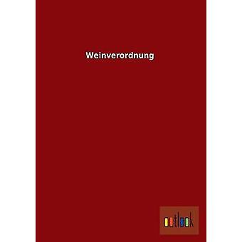 Weinverordnung by Outlook Verlag