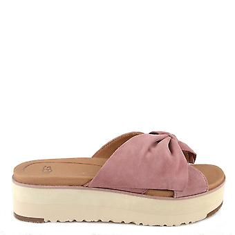 UGG Joan Pink Dawn Platform Slide