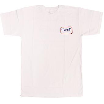 Brixton Freeman t-paita valkoinen