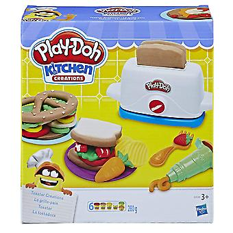 Play-Doh Kitchen Creations toster kreacje