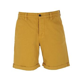 Nudie Jeans Co Luke Cotton Twill gelb Shorts