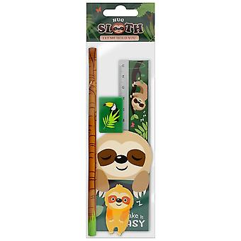 Grindstore Take It Easy Sloth Stationery Set