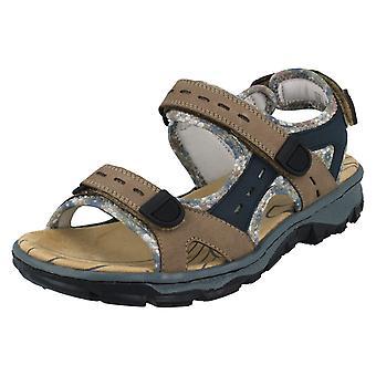 Damer Rieker afslappet sandaler 68872