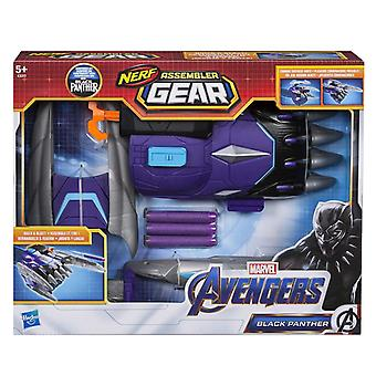 Marvel Endgame Nerf Black Panther Assembler Gear